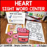 Heart Sight Word Center - Valentine's Day Center