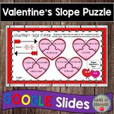 Heart Slope Puzzle Activity on Google Slides (Valentine's Edition)