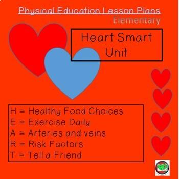 Heart Smart Unit Lesson Plans (Elementary)