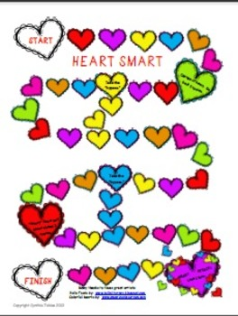 Heart Smart--a Mental Math Addition and Subtraction game