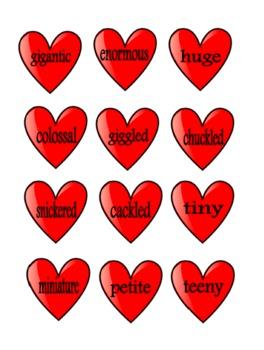Heart Synonym Sort