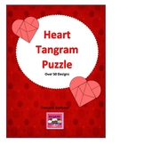 Heart Tangram Puzzles