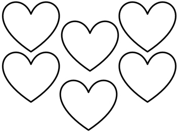 Heart Templates FREE!