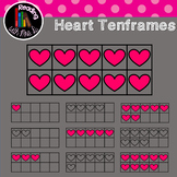 Heart Ten frames Color AND b&w
