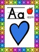 Heart Themed Alphabet Posters