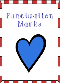 Heart Themed - Punctuation Posters