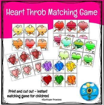 Heart Throb Matching & Memory