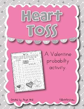 Heart Toss - A Valentine Probability Activity