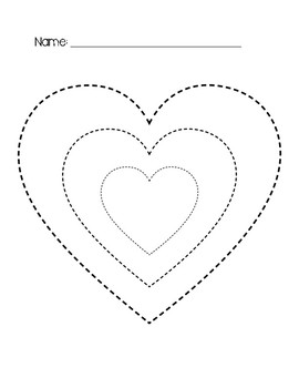 Heart Tracing FREEBIE