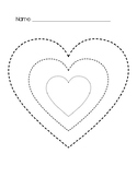Heart Tracing FREEBIE