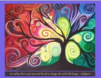 Heart Tree Inspirational Class Starter