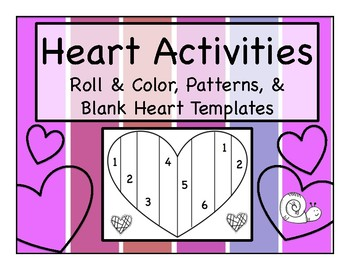 Heart & Valentine Activities
