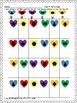 Heart / Valentine's Day B D REVERSALS & gross motor K1234 SPED