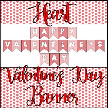 Heart Valentine's Day Banner