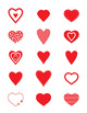 Heart Vector Clipart | Love, Romance, Valentine's Day | PNG, AI, EPS