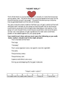 Heart Walk Activity
