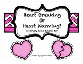 Heart Warming or Heart Breaking: A Social Behavior Sort