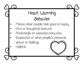 Heart Warming or Heart Breaking: A Social Behavior Sort