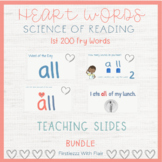 Heart Sight Words | Science of Reading | Orthographic Mapp