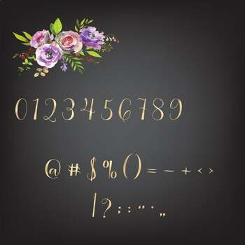 Heart alphabets, Gold foil alphabet, Romantic gold letters clipart, Gold numbers