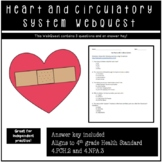 Heart and Circulatory System Webquest