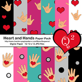Heart and Hands Paper Pack