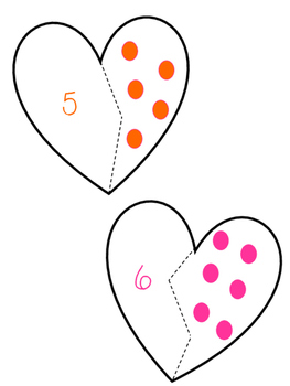 Heart number puzzle