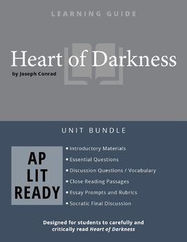 Heart of Darkness AP Lit Complete Unit Lesson Plan