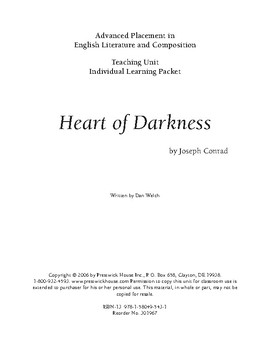Heart of Darkness AP Teaching Unit