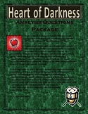 Heart of Darkness Analysis Questions Package