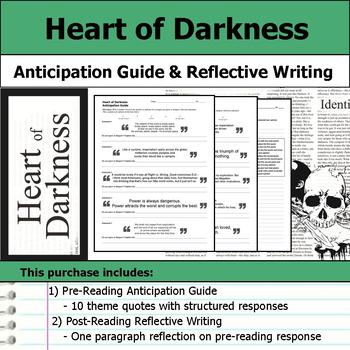 Heart of Darkness - Anticipation Guide & Written Reflection