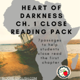 Heart of Darkness Chapter 1 Close Reading Pack (7 passages