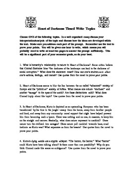 heart of darkness synthesis essay Heart of darkness essay questions - if you need to know how to compose a superb essay, you have to look through this top reliable and professional academic writing help.