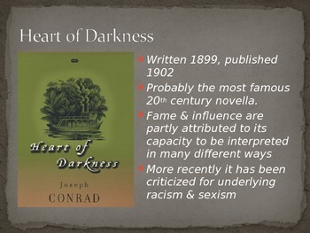 Heart of Darkness Introduction (Biography, History, Themes and Motifs)