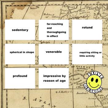 Heart of Darkness Part 1 | Joseph Conrad | VocabUmedia Cards