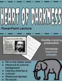 Heart of Darkness PowerPoint Lecture with Fill-in-the-Blan