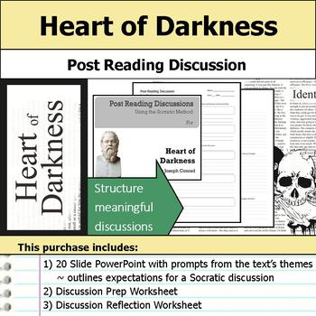 Heart of Darkness - Socratic Method - Post Reading Discussions