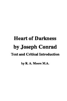 """Heart of Darkness"" by Joseph Conrad: Text and Critical In"