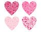 Heart of Hearts Clip Art Pink