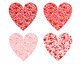 Heart of Hearts Clip Art Red