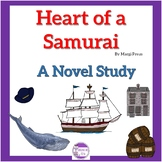 Heart of a Samurai by Margi Preus A Novel Study  151 pages!