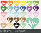 Heart rate Digital Clipart, Heart rate Graphics, Heart rate PNG