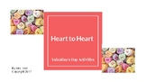 Heart to Heart - Valentine's Party Activities