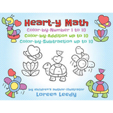 Valentine's Day Math up to 10