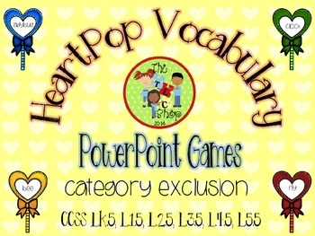 HeartPop Category Exclusion