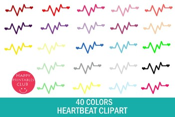 Heartbeat Clipart Images