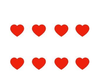 Heartbeat Tracking Chart - 8 beats