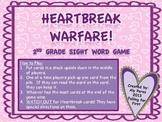 Heartbreak Warfare Sight Word Game