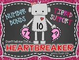 Heartbreaker Number Bonds - Decomposing Numbers DIFFERENTI