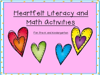 Heartfelt Literacy and Math Activities